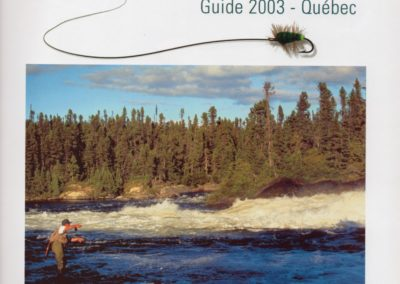Rob was honored to make the cover-Peche 2003