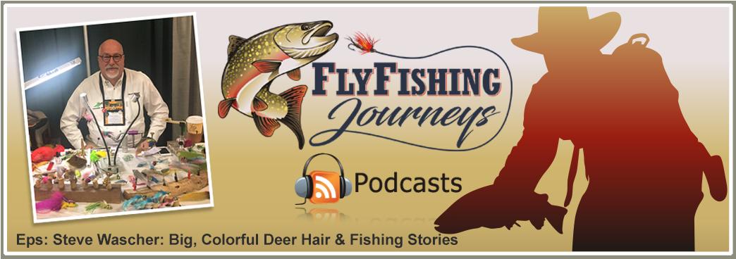 Steve Wascher Deer Hair Fly Tyer