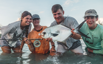 Steve Brown & Heather Harkavy – Fish For Change & Fly Fish Guanaja