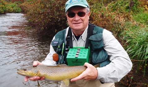 Podcast Tom Gilmore Flyfisher's Guide to Pennsylvania