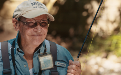 Joe Humphreys – Fly Fishing Educator and Focus of the Film, Live The Stream, The Story of Joe Humphreys